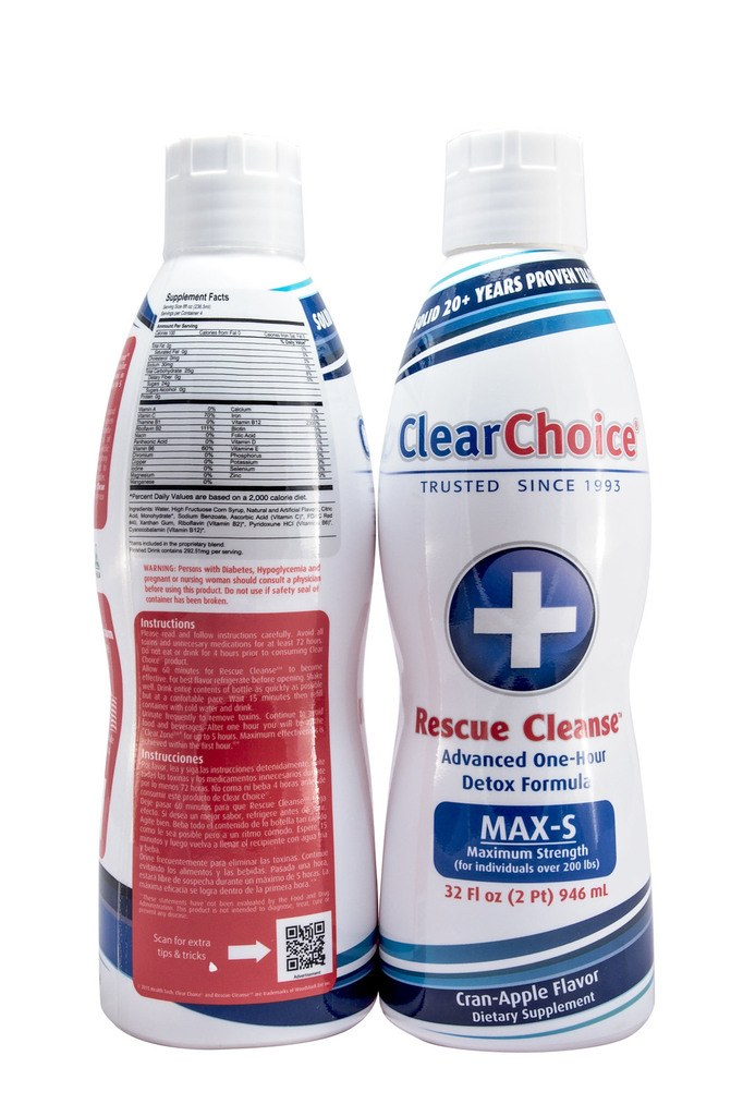 Clear Choice Rescue Cleanse 32OZ Review - lpath