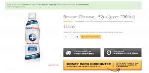 Rescue Cleanse review