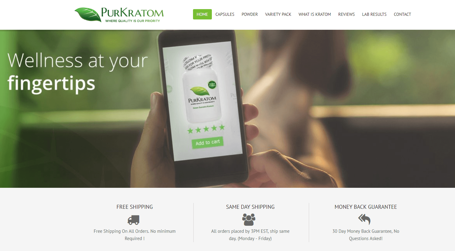 Purkratom reviews
