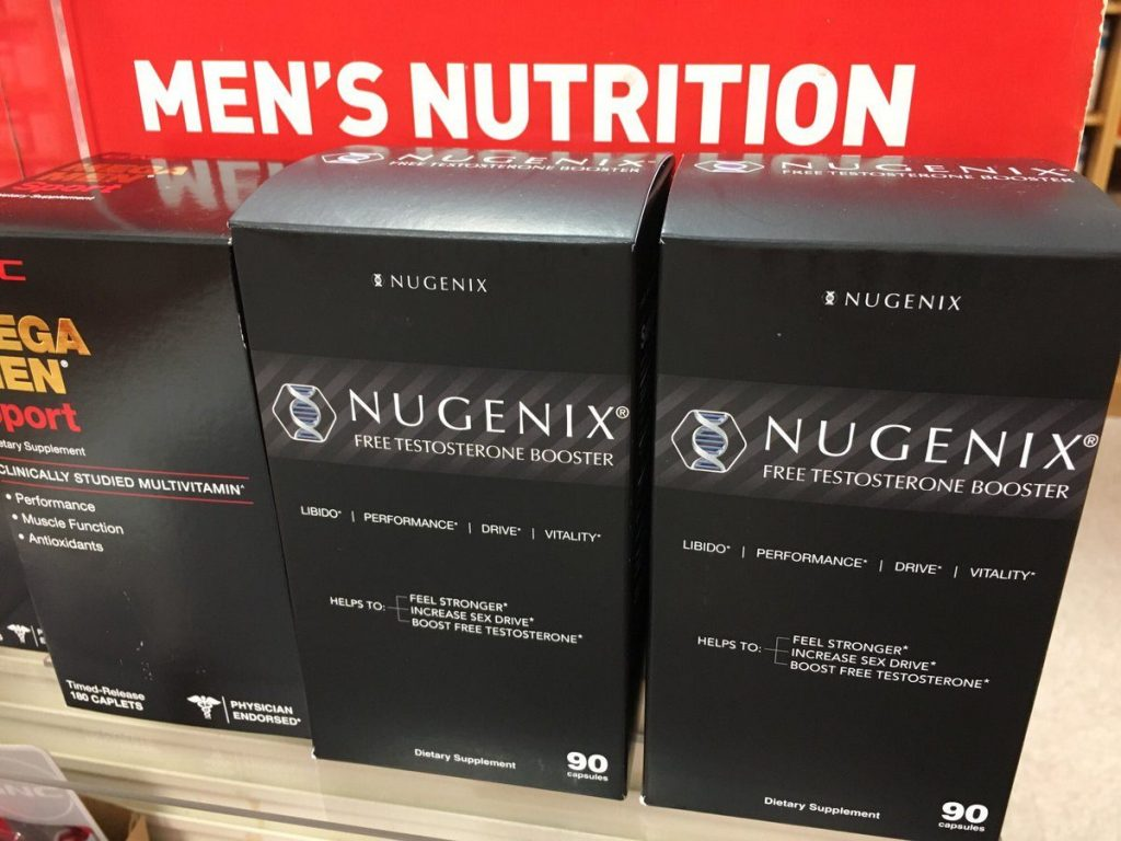 GNC testosterone booster