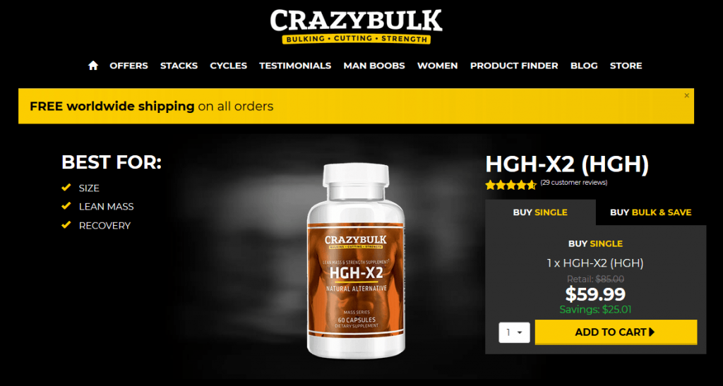 hgh-h2 for sale