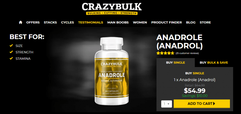 where to buy Anadrole
