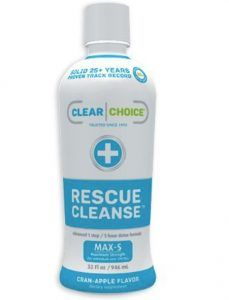 Rescue Cleanse detox drink for weed
